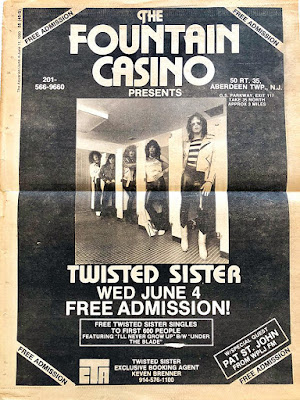 The Fountain Casino presents Twisted Sister June 1980