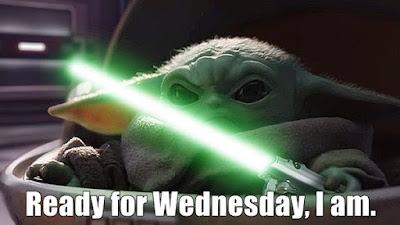 Ready for Wednesday I am - Tinalicious
