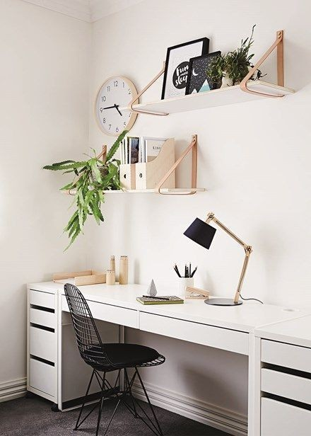 cute working space decoration idea