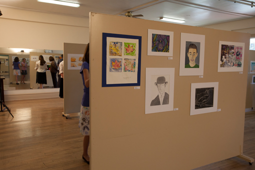 student art show - knoodleu - atascadero art classes - drawing on history - homeschool art curriculum