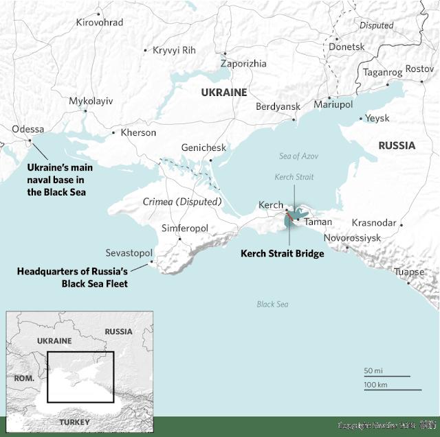 Κρίσιμη αναμέτρηση Ουκρανίας-Ρωσίας στην Αζοφική Θάλασσα
