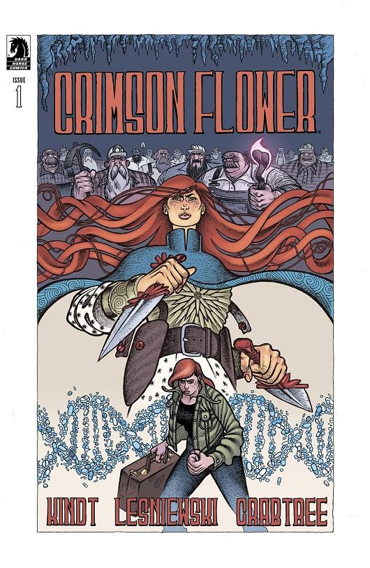 Cover of Crimson Flower #1