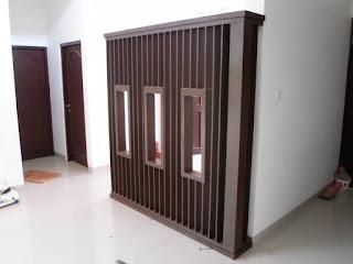 Desain Partisi Rumah Minimalis + Furniture Semarang (sekat ruang)