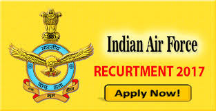 Recruitment Indian Air Force 57 Various vacancies 2017