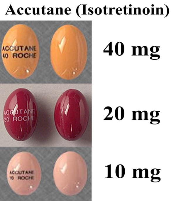Accutane là thuốc và được các bác sĩ kê đơn theo liều phụ thuộc vào mức độ nghiêm trọng của mụn trứng cá