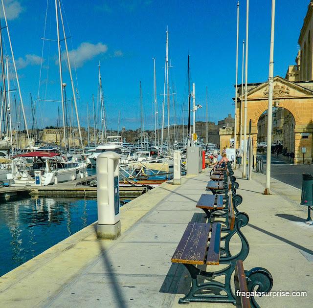 Beira-mar de Birgù, Malta