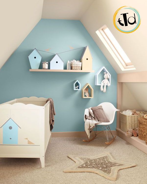 Babyroomtime teatimedesign - Bagno carta da zucchero ...