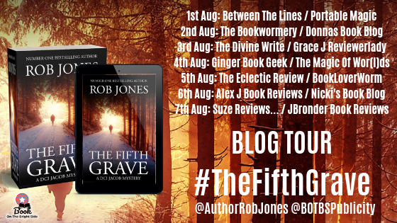 Suze Reviews   : The Fifth Grave by Rob Jones