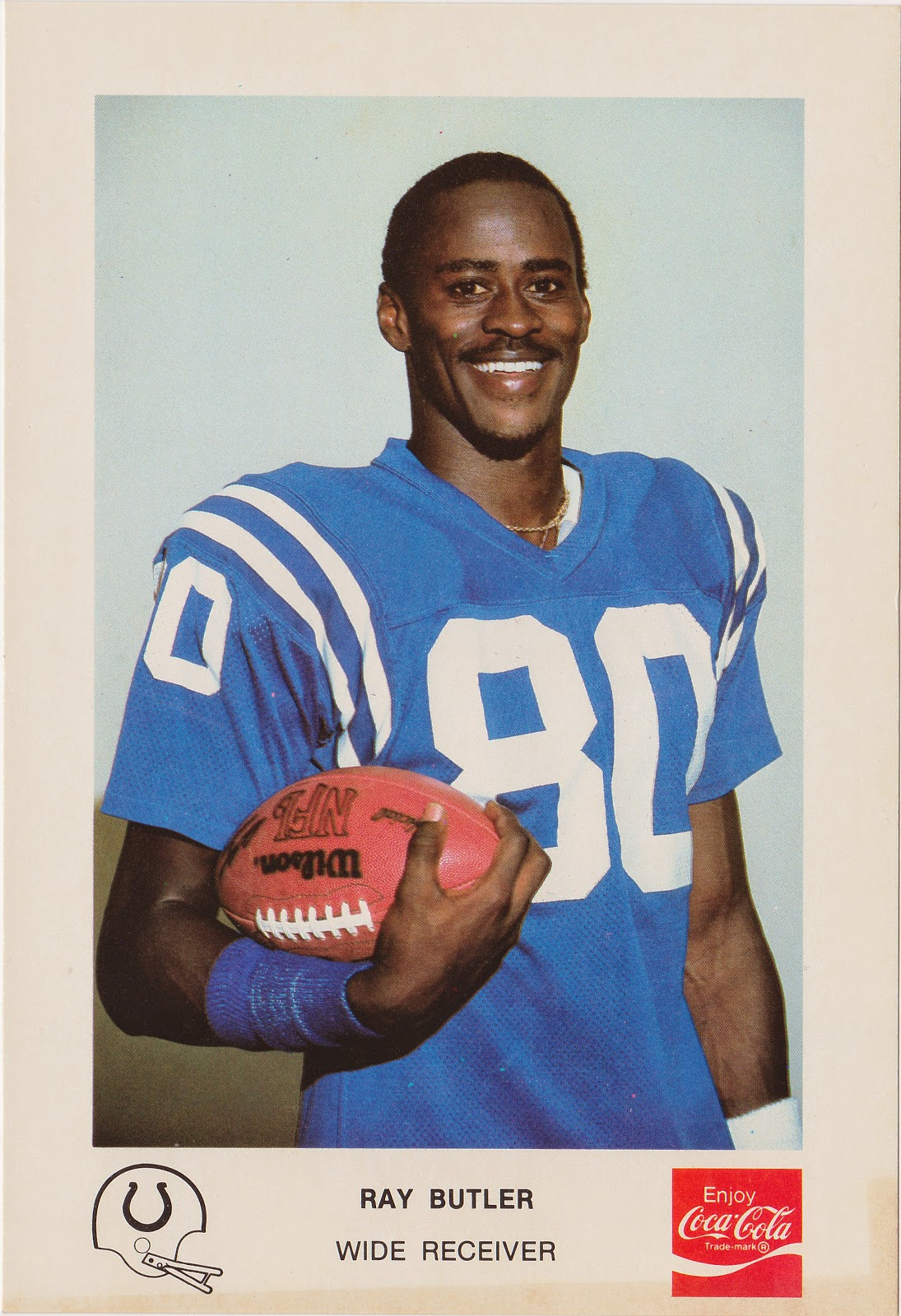 The Five Tool Collector Baltimore Colts Card History Pt 91980