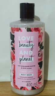 LBP Body Wash Muru-Muru Butter & Rose