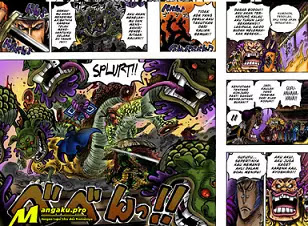 One Piece : 4 Hal Menarik Pada One Piece chapter 1009