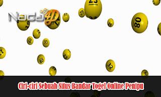 Ciri-ciri Sebuah Situs Bandar Togel Online Penipu