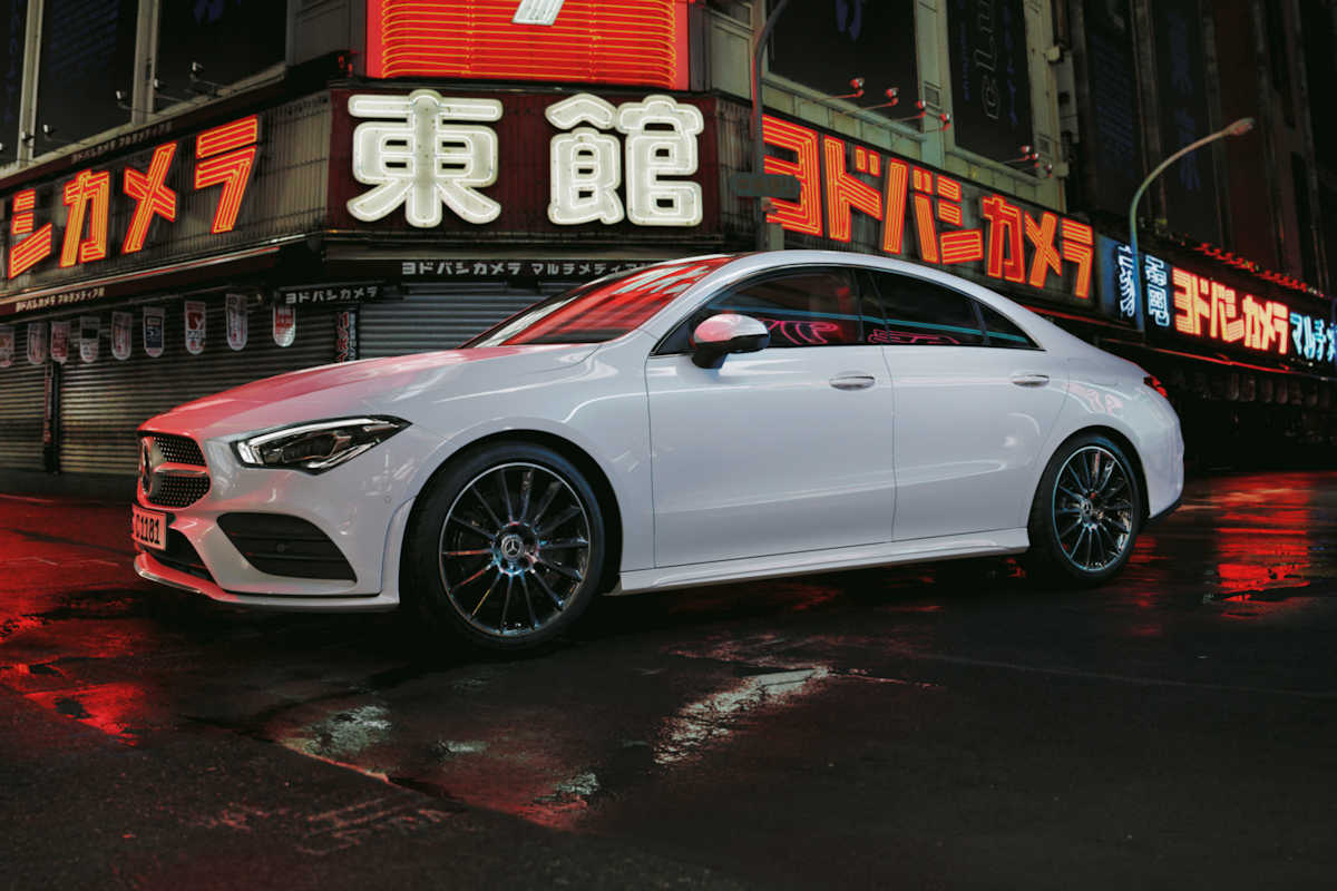 The 2020 Mercedes-Benz CLA-Class Blurs Style And Substance