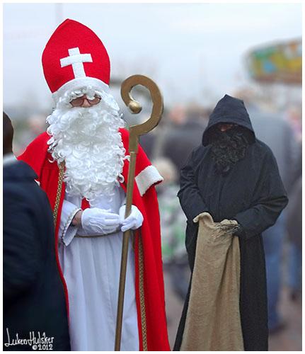 LH VANDAAG: Nikolaus en zijn knecht Ruprecht