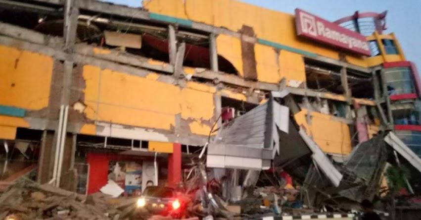 TERREMOTO EN INDONESIA: Potente Sismo y Tsunami ya deja más de 800 víctimas mortales