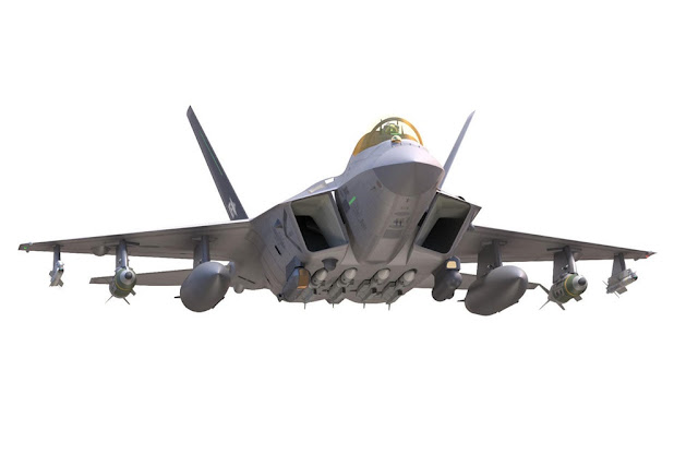 Korean KF-X combat aircraft