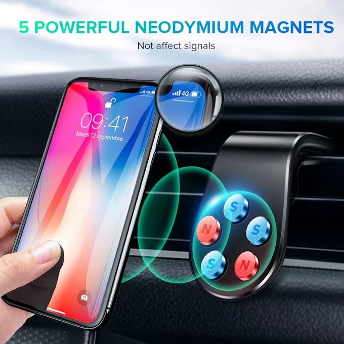 Magnetic Car Phone Holder 360 Metal