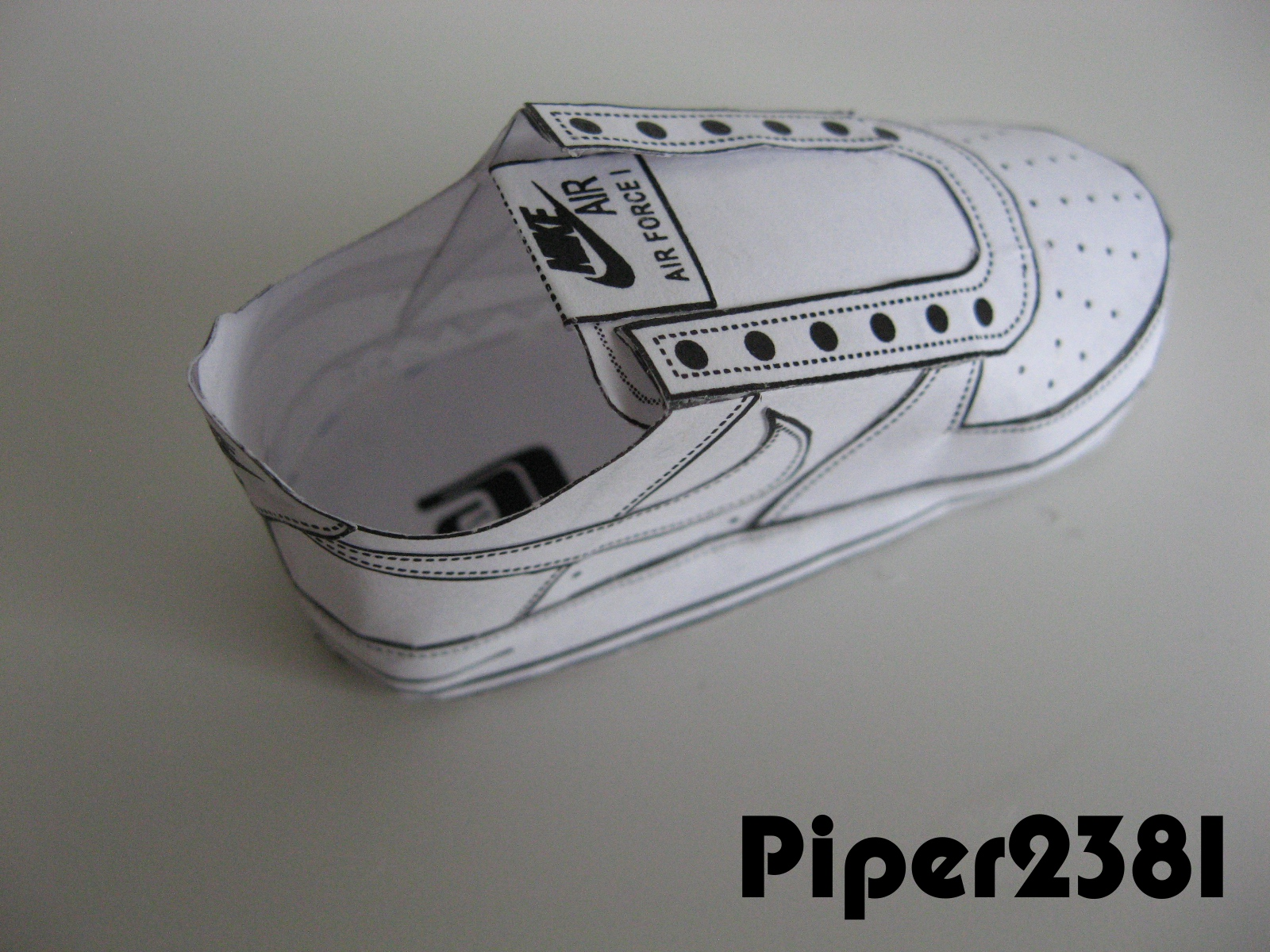 Piper2381 Nike Air Force 1 Papercraft