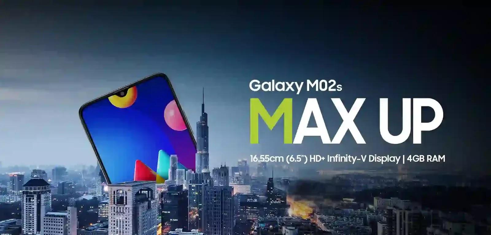 يبدأ بيع Samsung Galaxy M02s اعتبارًا من 19 يناير: السعر والمواصفات والميزات