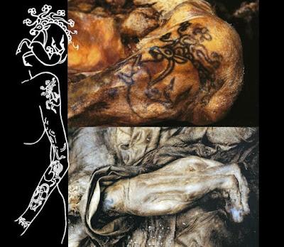 Tattoos: prehistoric mumies