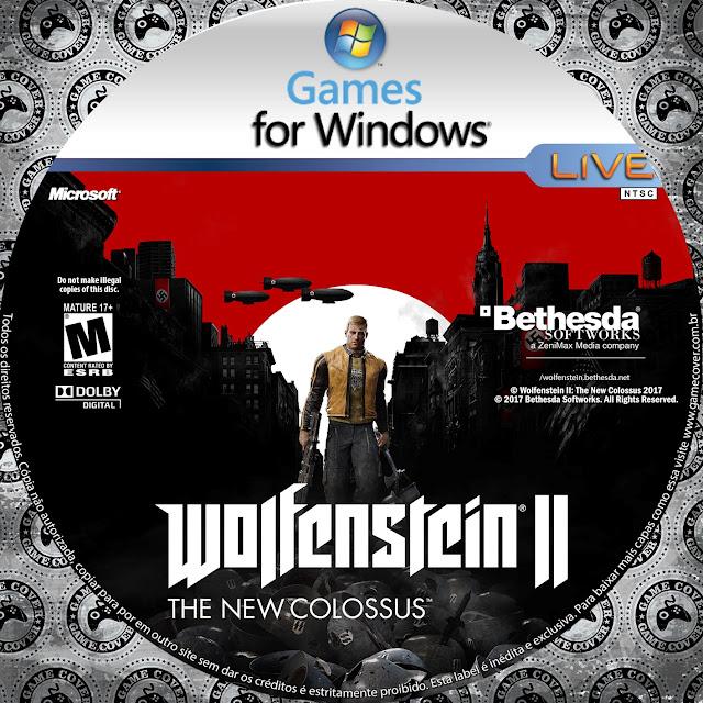 Label Wolfenstein II: The New Colossus PC [Exclusiva]