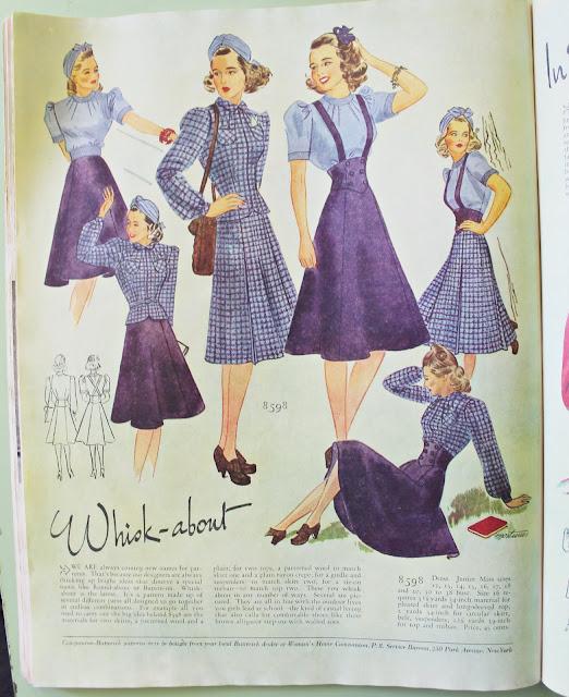 1930s womens fashion magazine spring dresses