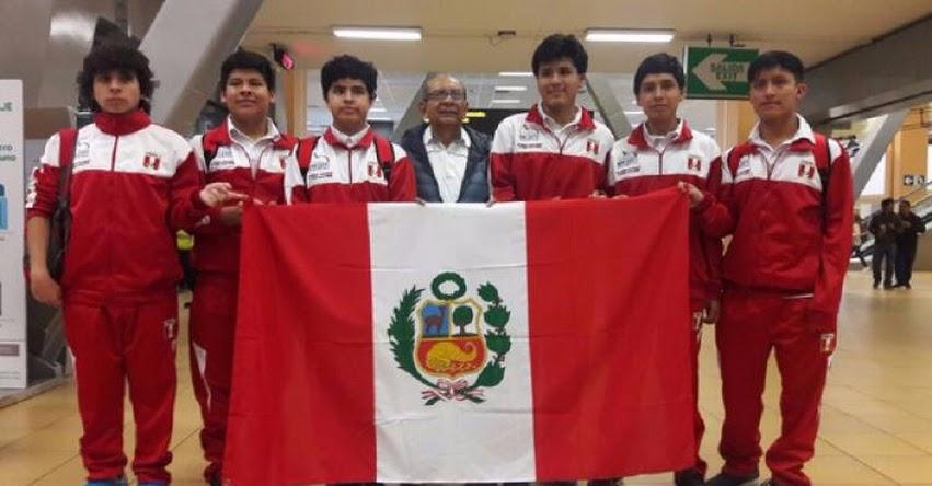 El Perú ganó cinco medallas en la Olimpiada Mundial de Matemáticas realizado en Brasil