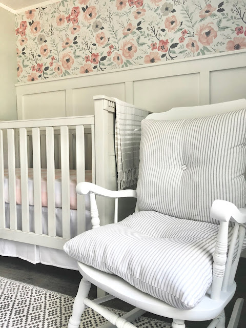 Wood Nursery Rocker