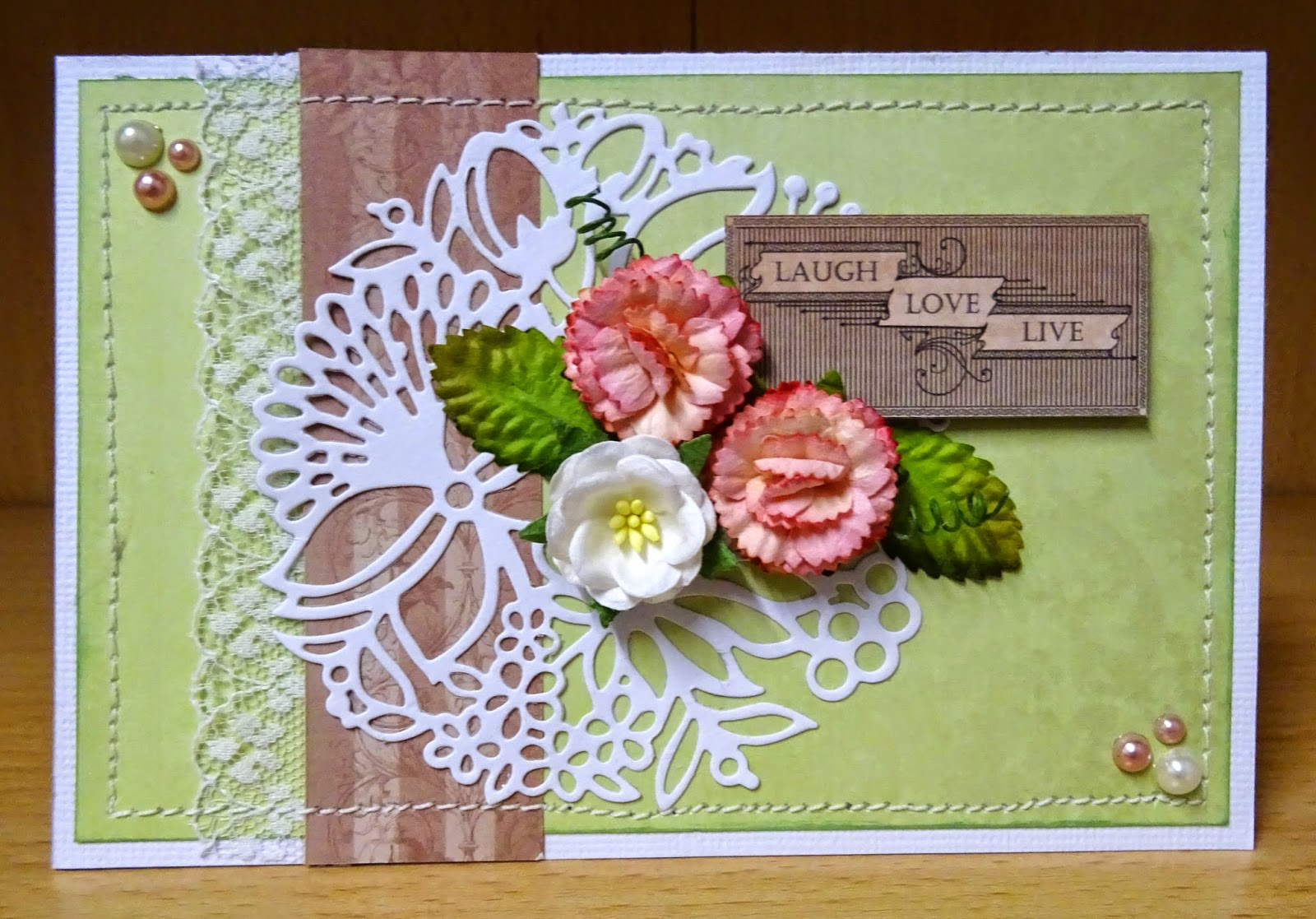 Rose Garden Creations: Let's Get Messy!: Couture Creations Creative Inspiration 6