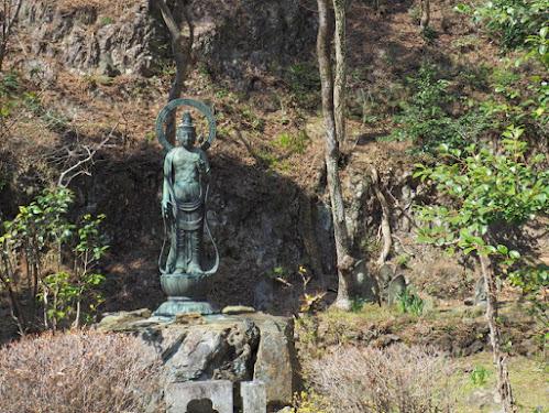 行道山浄因寺の観音様