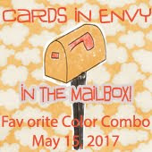 Cards In Envy~Favourite Colour Combo (Mailbox Favourite)