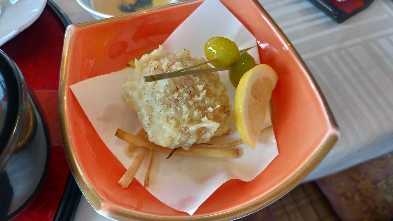 長崎市お食事処あかまの揚げ物