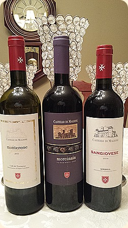 A Trio of Wines from Castello di Magione