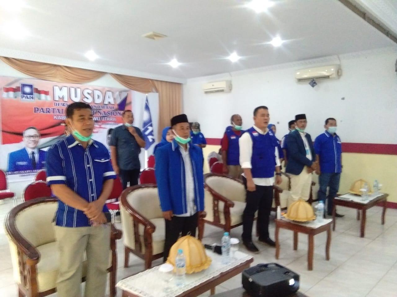 Ketua DPD PAN Luwu Utara, Karemuddin :  Bersinergi Dengan Pers Sangat Wajib