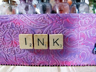 close up of scrabble tile letters