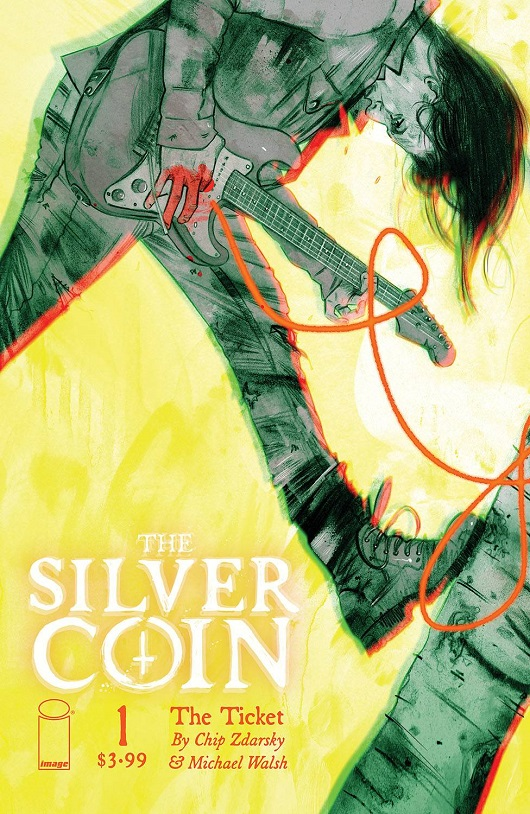 Cover of The Silver Coin #1