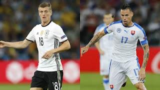 Alemania vs Eslovaquia, Eurocopa 2016