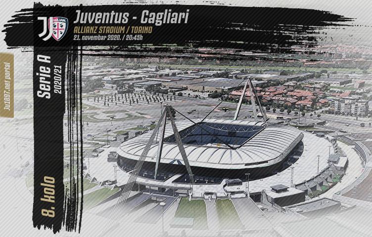 Serie A 2020/21 / 8. kolo / Juventus - Cagliari, subota, 20:45h