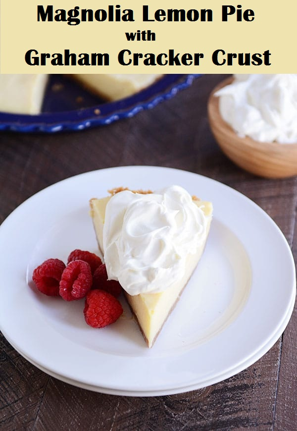 Magnolia Lemon Pie with Graham Cracker Crust