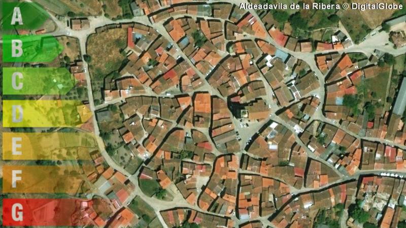 certificado energetico de vivienda y local en aldeadavila de la ribera