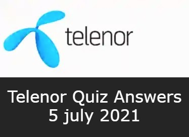 5 July Telenor Answers Today