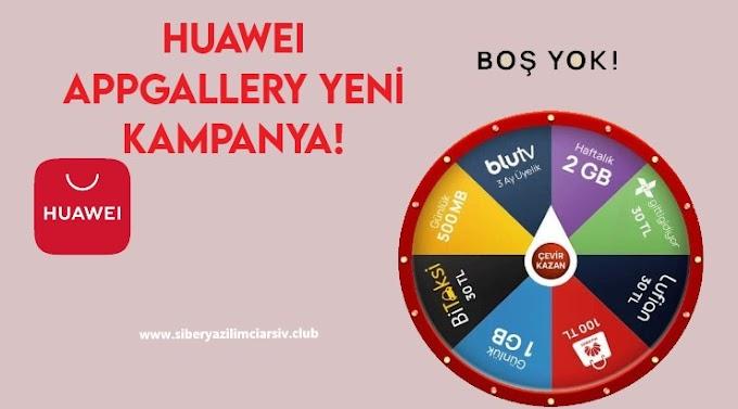 Huawei AppGallery Hediye Kampanyası!