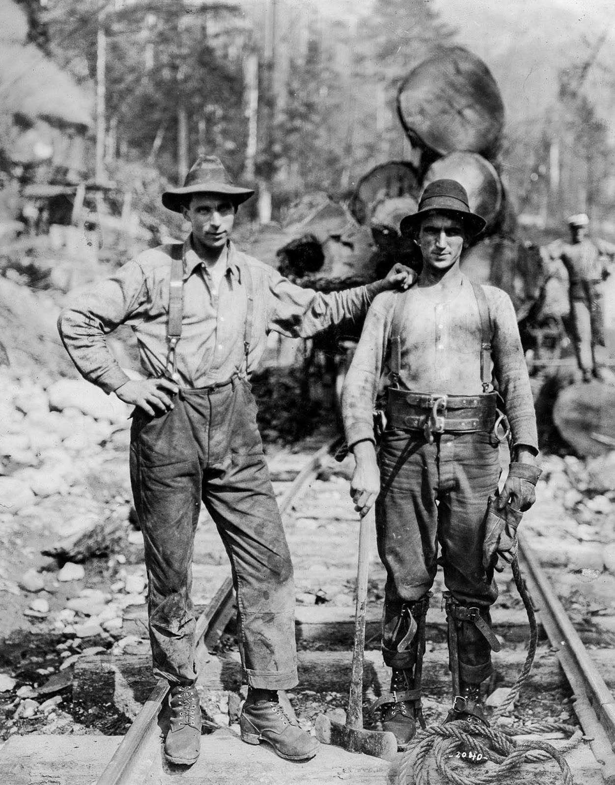Employees of the Capilano Timber Company. 1920.