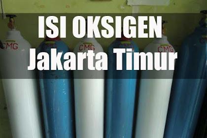 Isi Ulang Tabung Oksigen Medis di Jakarta Timur dan Sekitarnya
