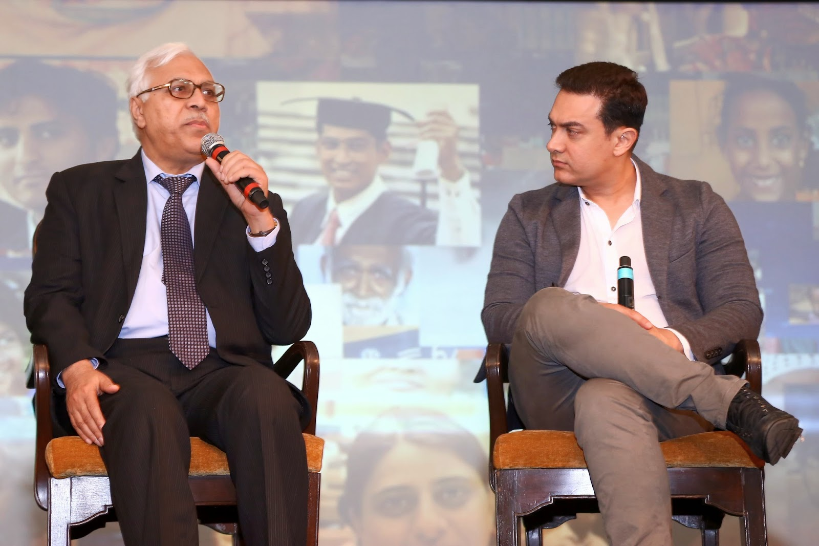 Dr SY Quraishi, Former Chief Election Commissioner of India sharing his experience  with Aamir Khan during Satyamev Jayate