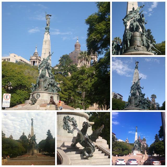 Monumento a Julio de Castilhos, Praça da Matriz, Porto Alegre