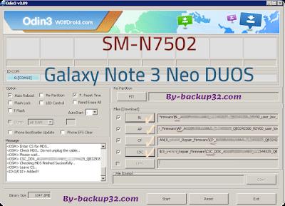سوفت وير هاتف Galaxy Note 3 Neo DUOS موديل SM-N7502 روم الاصلاح 4 ملفات تحميل مباشر