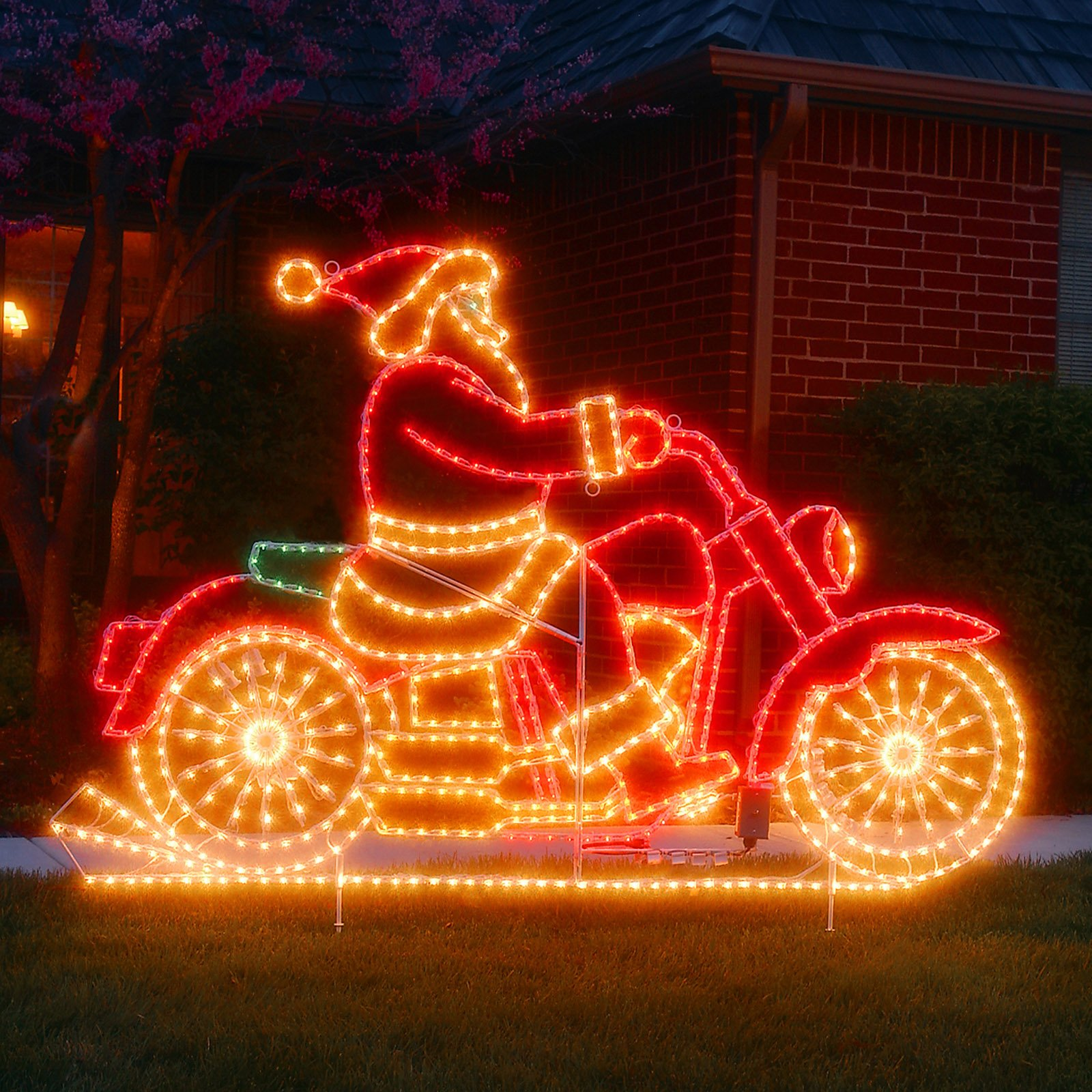 Harley Davidson Christmas Decorations