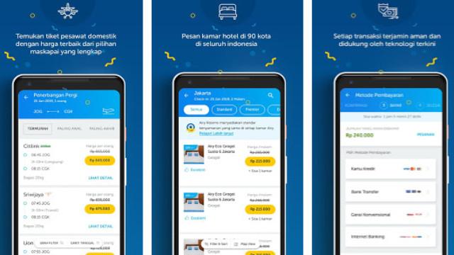 aplikasi kredit tiket pesawat