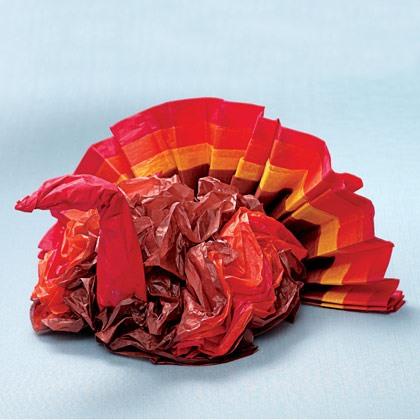 Tissue Paper Turkey